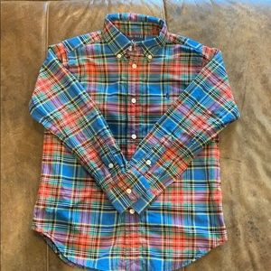 Polo Ralph Lauren Boys' Long Sleeved Button Up